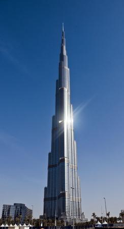 top seven: Burj Khalifa, Dubai