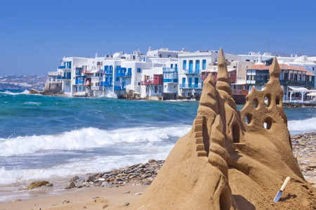 Mykonos Island, Greece Stock Photo - 27401787