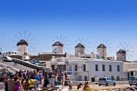 Mykonos Island, Greece Stock Photo - 27401789