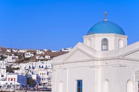 Mykonos Island, Greece Stock Photo - 27401793