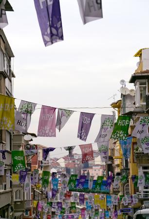 emigranti: Quartiere di Tarlabasi, Istanbul, Turchia