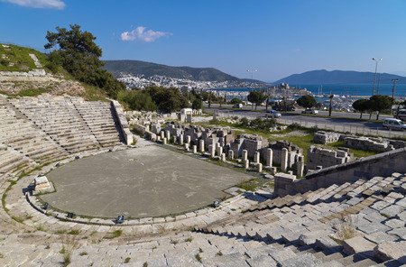amphitheatre: Amphitheater of Halicarnassus, Bodrum, Turkey