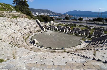 Amphitheater of Halicarnassus, Bodrum, Turkey