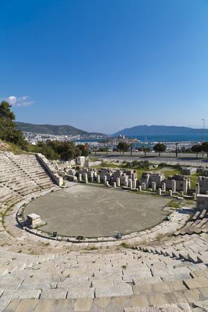 amphitheatre: Amphitheater of Halicarnassus, Bodrum, Turkey