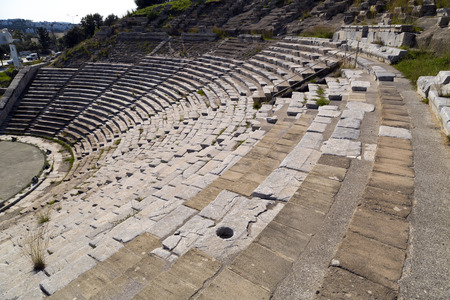 Amphitheater of Halicarnassus, Bodrum, Turkey photo