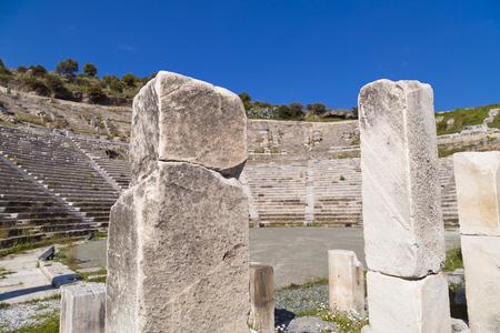 Amphitheater of Halicarnassus, Bodrum, Turkey photo