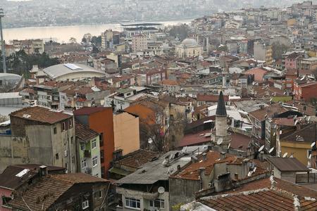 disctrict: Tepebasi disctrict, disorganized suburbs of Istanbul