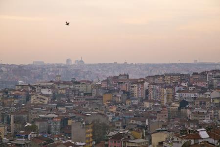 Tepebasi disctrict, disorganized suburbs of Istanbul
