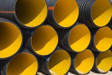 aguas residuales: Tubos de tubos de PVC