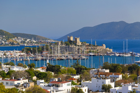 Bodrum castle view, Turkey photo