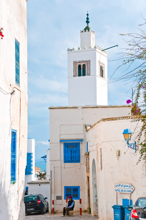Sidi Bou Said mosqu�e, Tunisie photo