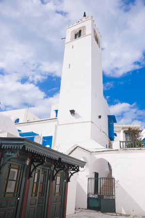 Sidi Bou Said Mosque, Tunisia photo