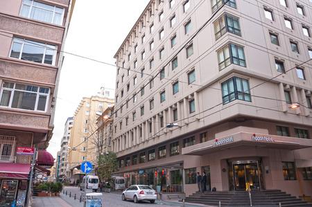 17 December, 2011 - Taksim Hotels Area, Cumhuriyet Avenue, Harbiye, Talimhane district - Istanbul, Turkey