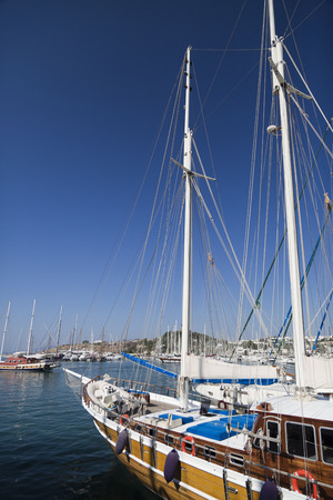View from Bodrum, Turkey s most popular summer holiday destination with historical and recreational attractions photo