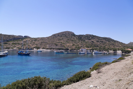 Knidos is an ancient settlement south-western Turkey  An ancient Greek city of Caria, part of the Dorian Hexapolis situated on the Datca peninsula photo