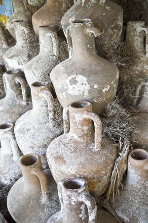 crusaders: Detail from ancient remains in Bodrum Castle, Turkey