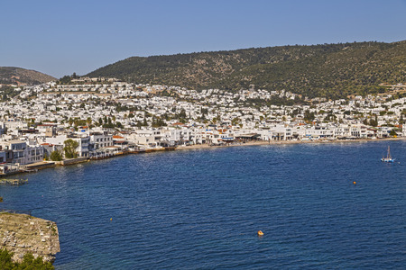 Bodrum, Turkey - Beautiful view from the popular holiday destination photo