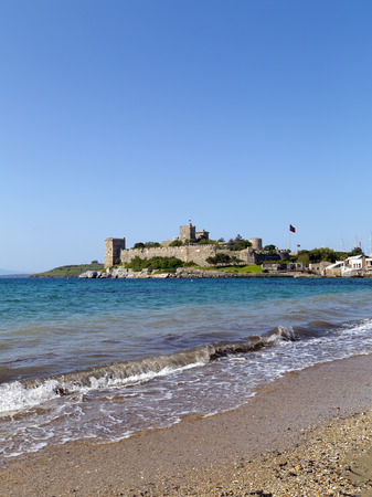 winter theater: Bodrum, Turkey - Beautiful view from the popular holiday destination Stock Photo