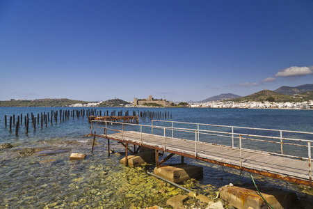 Bodrum, Turkey - Beautiful view from the popular holiday destinationBodrum, Turkey - Beautiful view from the popular holiday destination in spring time photo
