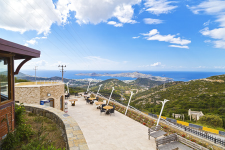 Bodrum, Turkey - Beautiful view from the popular holiday destination in spring time photo