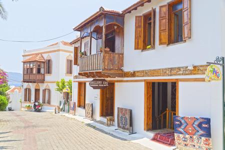 turkiye: Kas town, popular holiday destination near Antalya, Turkey Editorial
