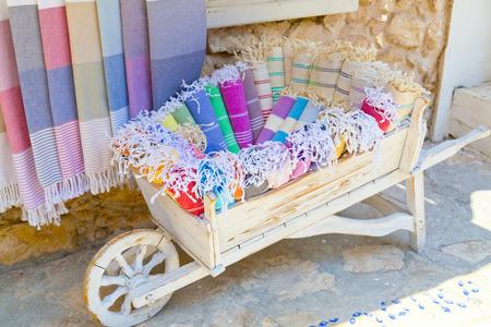 loincloth: Loincloths in a wooden cart