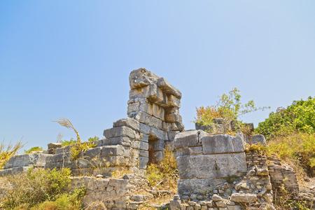 Ancient city of Ephesus, Turkey photo