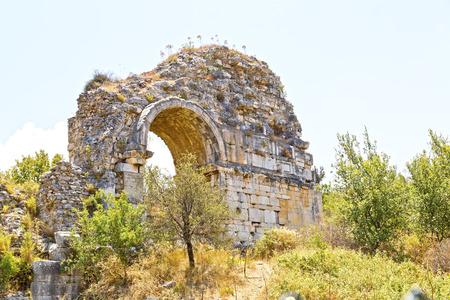 architrave: Ancient city of Ephesus, Turkey