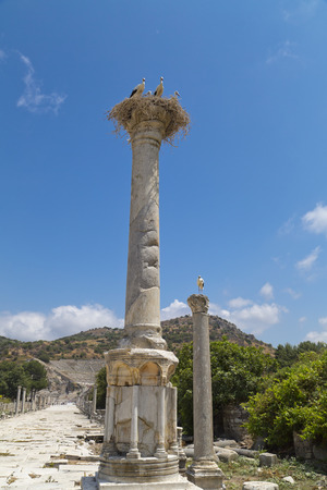 Ancient city of Ephesus, Turkey Stock Photo - 30421924