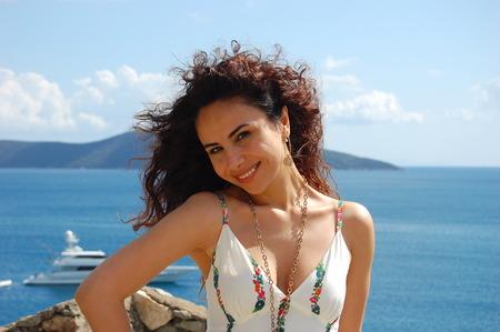 turkish woman: Betul Demir, famous Turkish singer