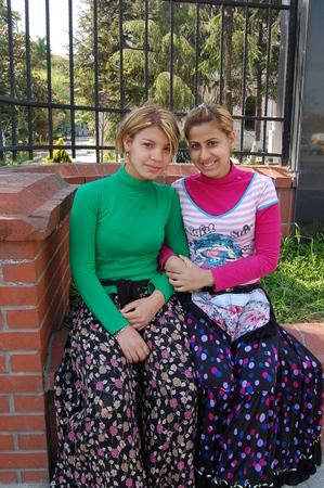 turkish woman: Turkish gypsy girls