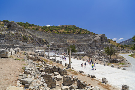 Ancient city of Ephesus, Turkey Stock Photo - 30374323