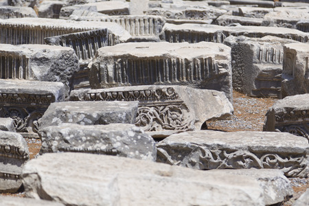 Ancient city of Ephesus, Turkey photo