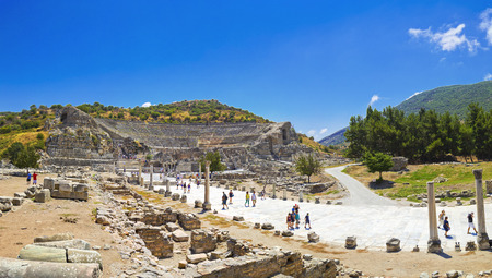 national historic site: Ancient city of Ephesus, Turkey