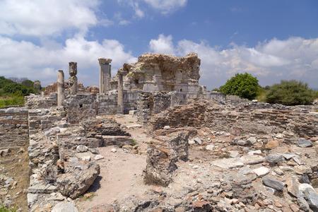 Ancient city of Ephesus, Turkey Stock Photo - 30422428