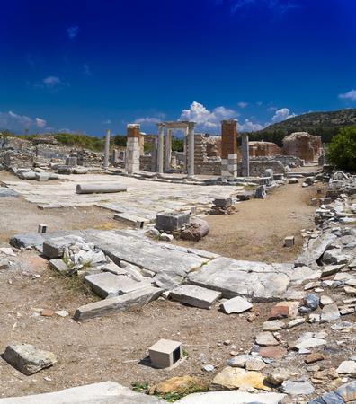 Ancient city of Ephesus, Turkey Stock Photo - 30422331
