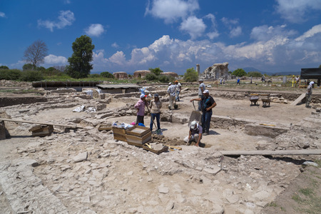 broken hill: Ancient city of Ephesus, Turkey