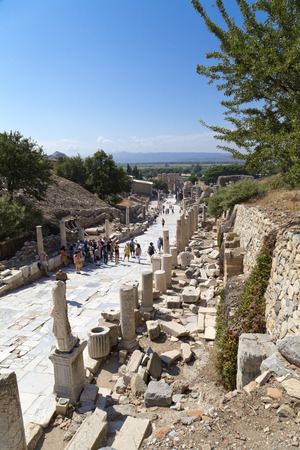 Ancient city of Ephesus, Turkey\