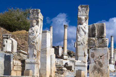 teatro antiguo: Antigua ciudad de Éfeso, Turquía