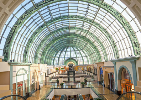 Interior of the Mall of the Emirates