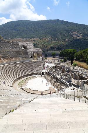 architectural heritage: Ancient city of Ephesus, Turkey