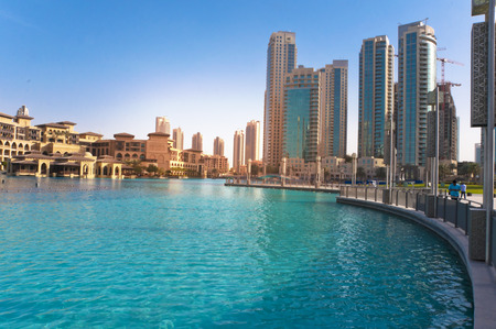 tourist resort: Downtown Dubai, UAE