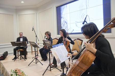 chambers: Free public classical music concerts run by Ayse Sipahioglu at Ciragan Palace Kempinski Hotel, Istanbul