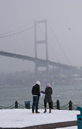 bosphorus: Winter in Istanbul