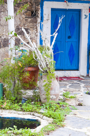 Aegean house exterior photo