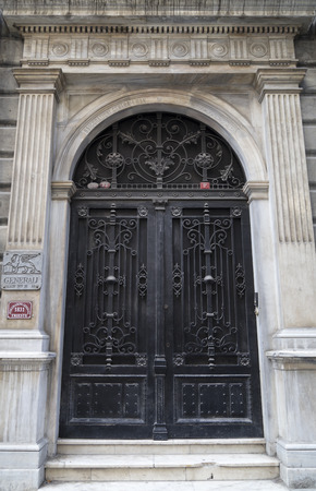 ornated: Huge classical door
