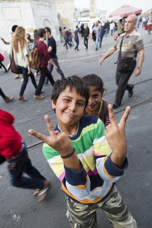 refugee: Refugee kids in Istanbul, Turkey
