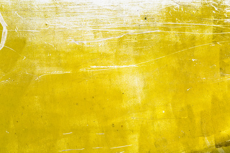 Yellow grunge texture background Reklamní fotografie