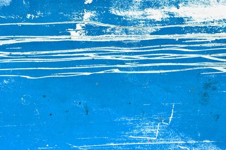 Blue grunge texture background photo