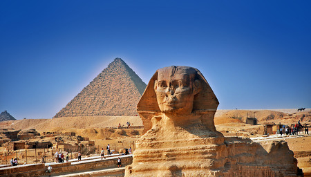 giza: The Pyramids of Giza, Egypt
